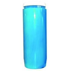 Lampe de sanctuaire huile végétale - Bleu