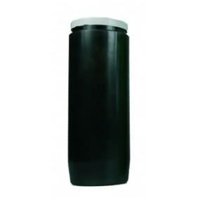 Lampe de sanctuaire huile végétale - Noir