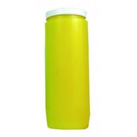 Lampe de sanctuaire huile végétale - jaune