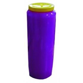 Lampe de sanctuaire huile végétale - Violette