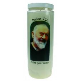 Lampe sanctuaire Padre Pio colorée