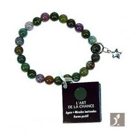 Bracelet Art de la chance - Agate