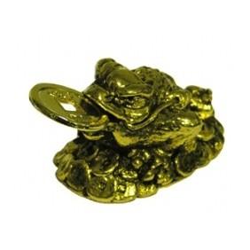 Grenouille - laiton métal doré
