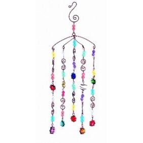 Mobile Boules multicolores